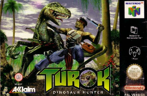 54848 Turok Dinosaur Hunter Nintendo 64 Front Cover Picsay 80abd