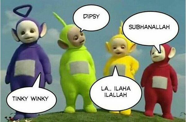 Meme Kocak Teletubbies 3