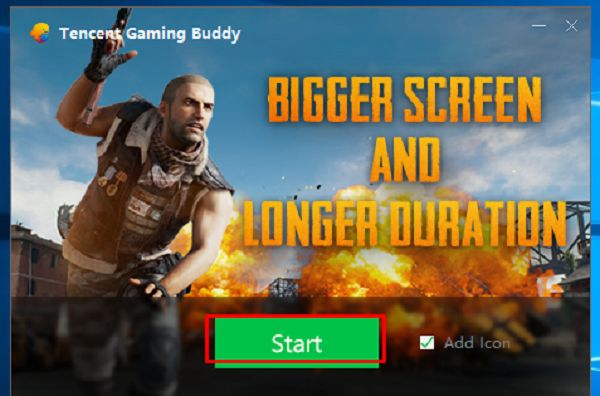 Play Free PUBG on PC