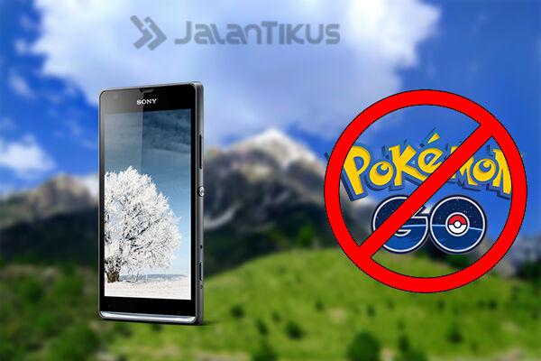 Smartphone Android Tidak Bisa Main Pokemon Go 1