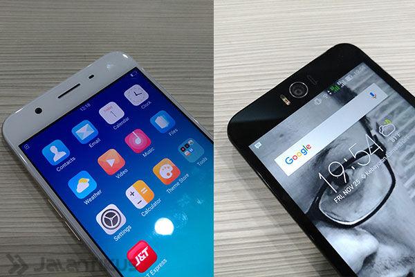 Oppo F1s Vs Asus Zenfone Selfie 7