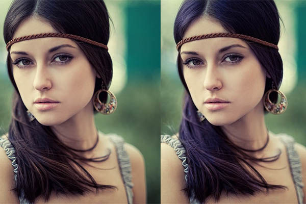 Cara Cepat Mengganti Warna Rambut Di Foto 4