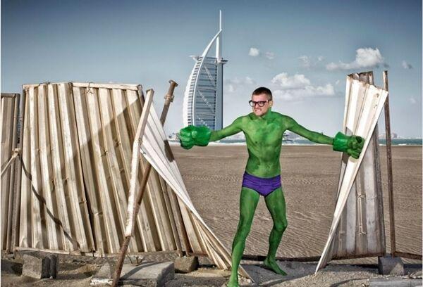 Superhero Di Dunia Nyata Mini 1