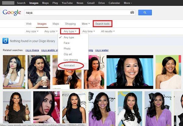 Google Tambah Fitur Pencarian Gif