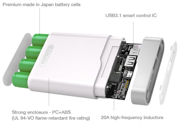 Xtron Power Bank Khusus Perangkat Usb C 5