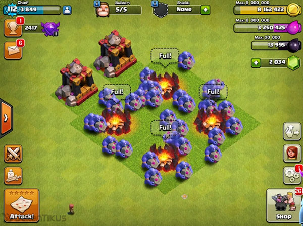 Bowler Clash Of Clans 4