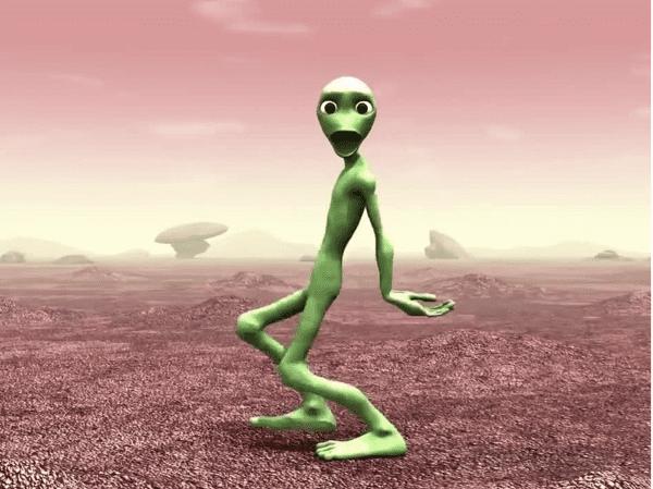 Tari Alien Hijau Tarian Baru 9 16748