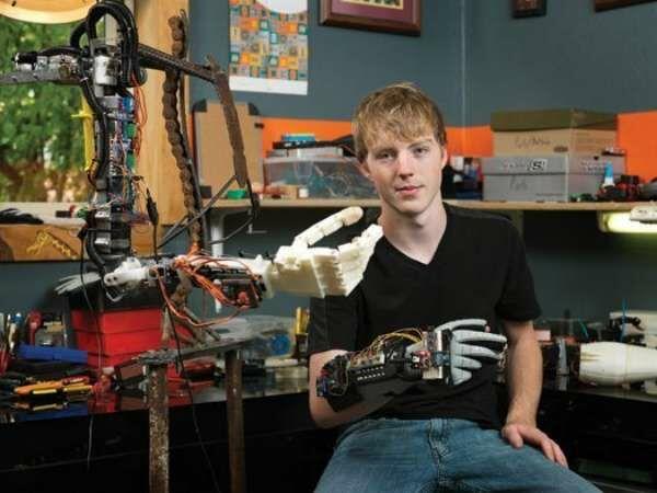 Easton Lachappelle Brazo Robotico Impreso En 3d Picsay 28271