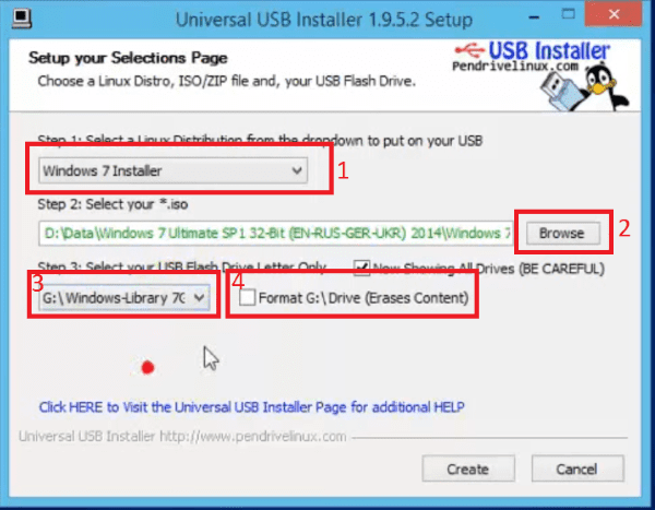 Foto Windowslibrary Installer3