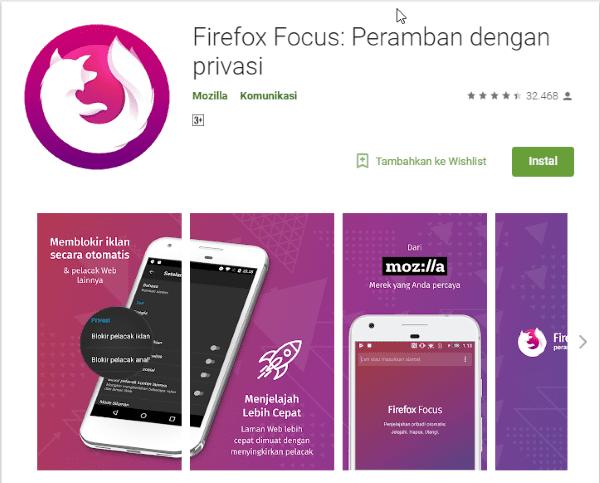 Firefox Focus Aplikasi Di Google Play 806d2