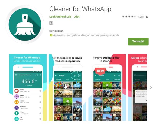 Cleaner For Whatsapp Google Play 5e329