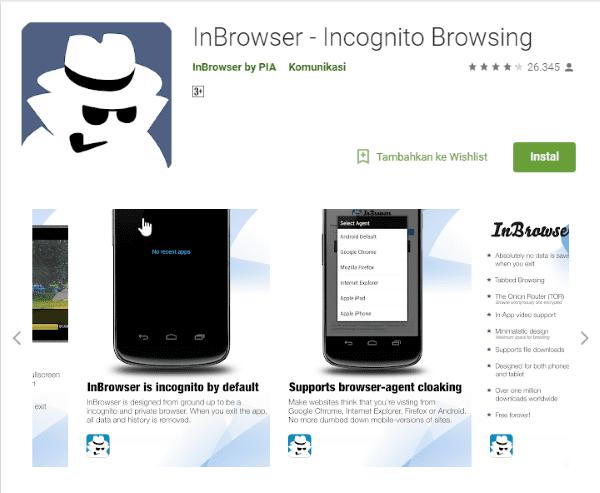 InBrowser Incognito Browsing Aplikasi Di Google Play E6650