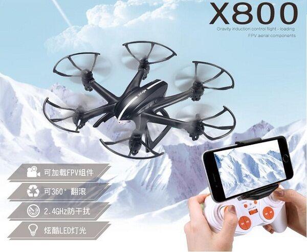 MJX X800 Drone Hexacopter C4005 FPV Camera 71587
