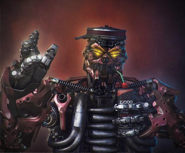 Karya Seni Robot 5