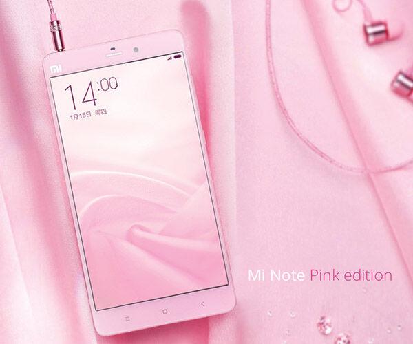 Mi Note Pink1