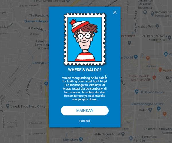 Lelucon Perusahaan Tekno Logi Saat April MOP Google Maps 2 35a60