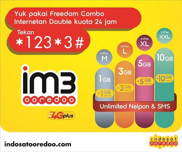 daftar paket internet 4g paling murah indosat 2