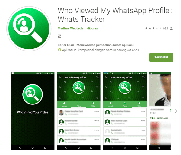 Who Viewed My WhatsApp Profil Google Play 97a6d