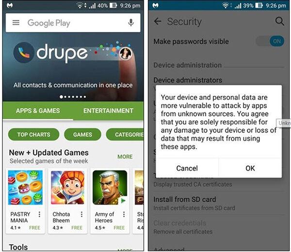 Cara Melindungi Smartphone Android Dari Malware 1