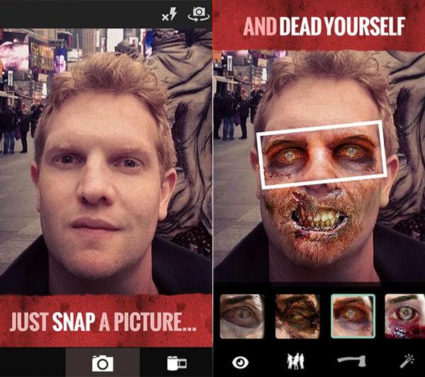 Aplikasi Zombie Camera Android 1