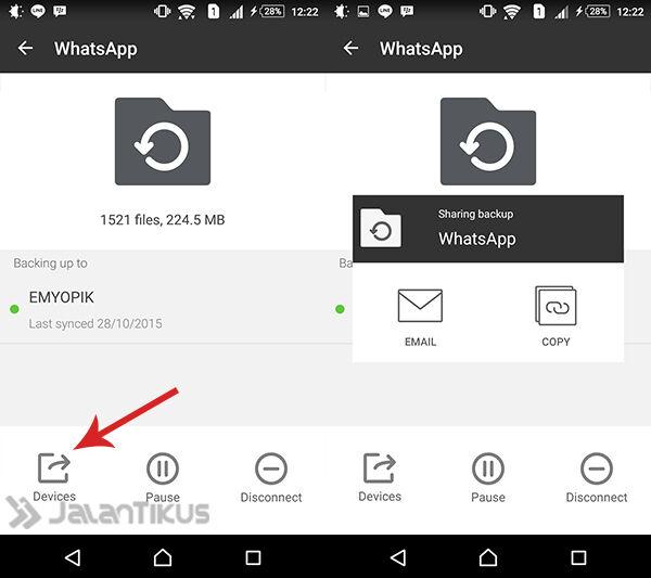 Backup Data Whatsapp 5