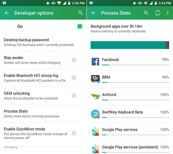 Penggunaan Android 1