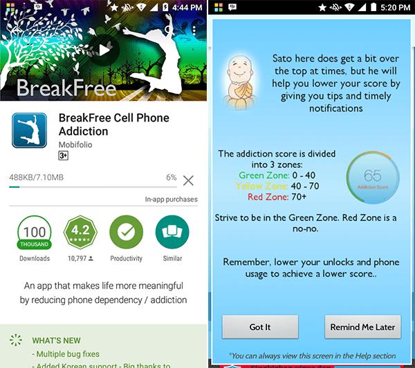 Breakfree 1