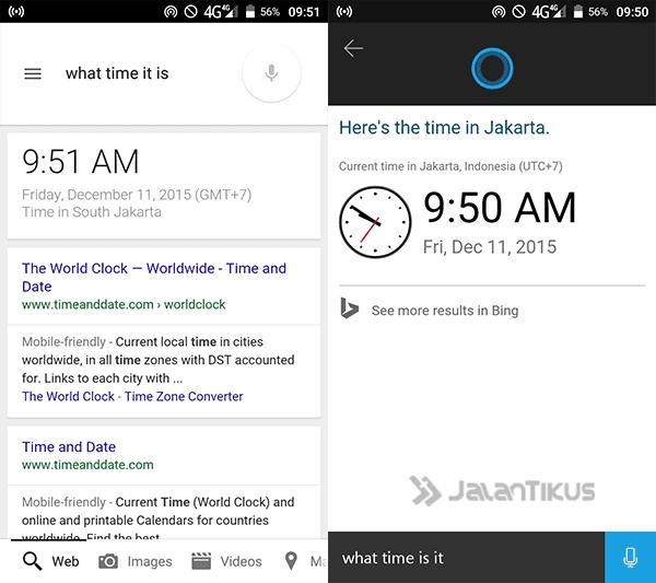 Cortana Vs Google Now 3