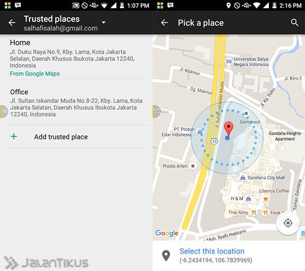 Cara Amankan Data Android 5