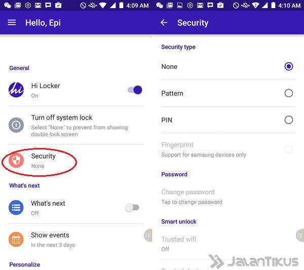 Cara Android Menyapa Kamu 3