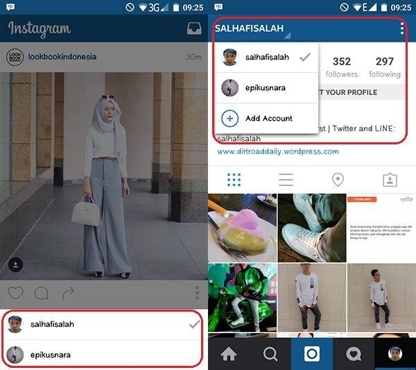 Multiple Accounts Instagram 2