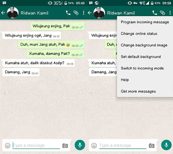 Cara Membuat Chat Palsu 7