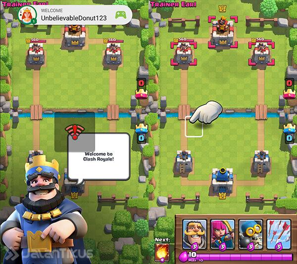 Cara Main Multi Akun Clash Royale 7