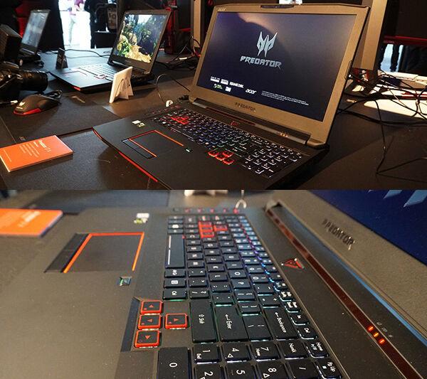 Laptop Gaming Acer Predator 17x 11