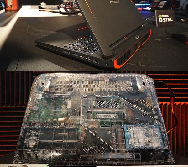 Laptop Gaming Acer Predator 17x 13