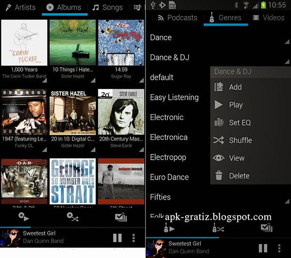 Aplikasi Pemutar Musik Terbaik Android 10