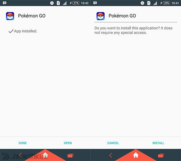 Cara Install Pokemon Go Di Android 1