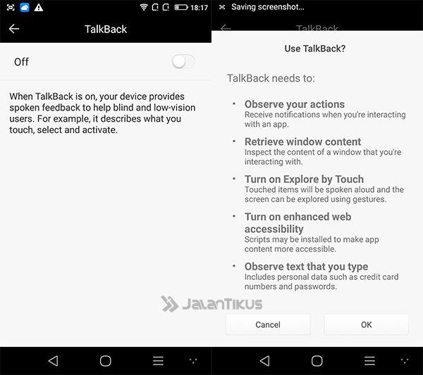 Smartphone Android Pengguna Gangguan Penglihatan 4