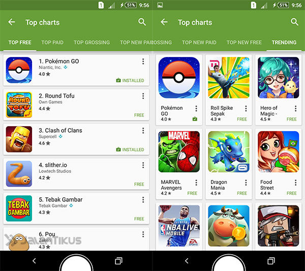 Pokemon Go 100 Juta Download 1
