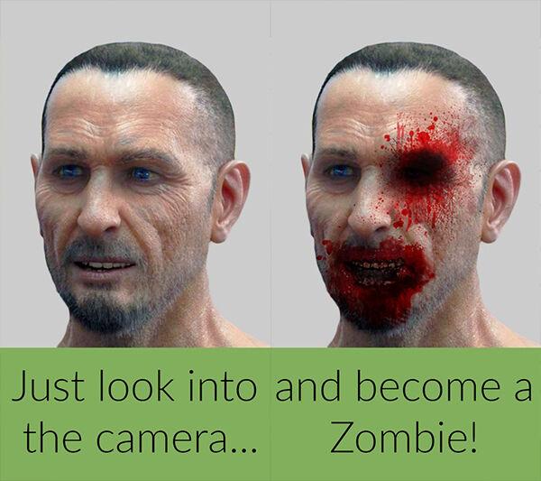 Aplikasi Zombie Kamera 4