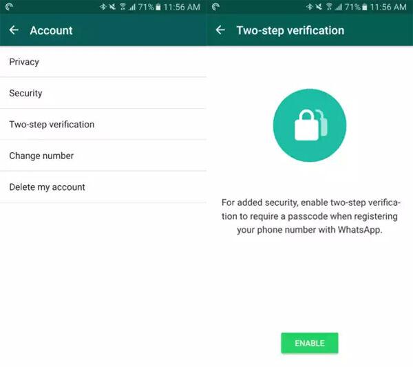 Verifikasi Dua Langkah Whatsapp 1