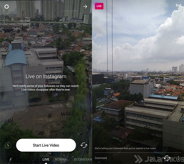 Cara Save Video Live Instagram 1
