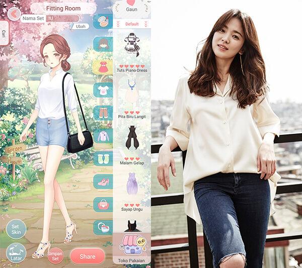 Seleb Korea Tiru Gaya Dress Up Diary 1