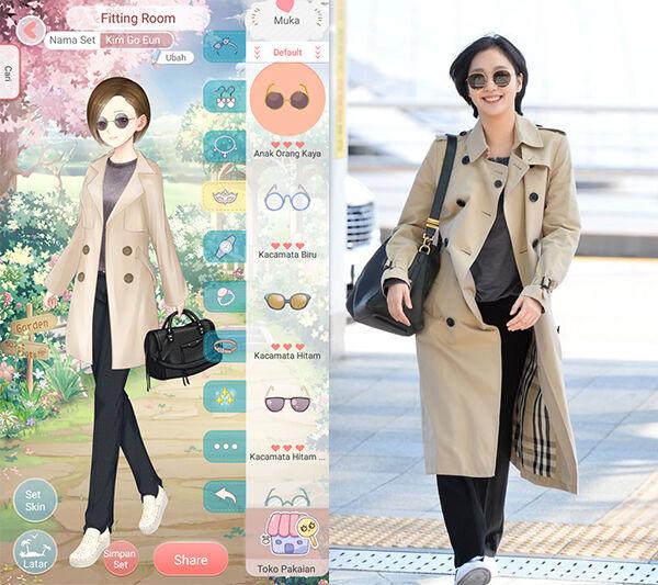 Seleb Korea Tiru Gaya Dress Up Diary 2