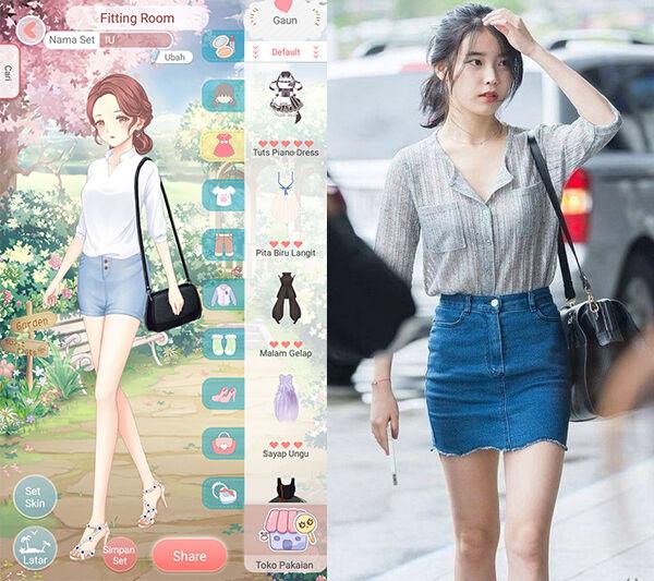 Seleb Korea Tiru Gaya Dress Up Diary 4