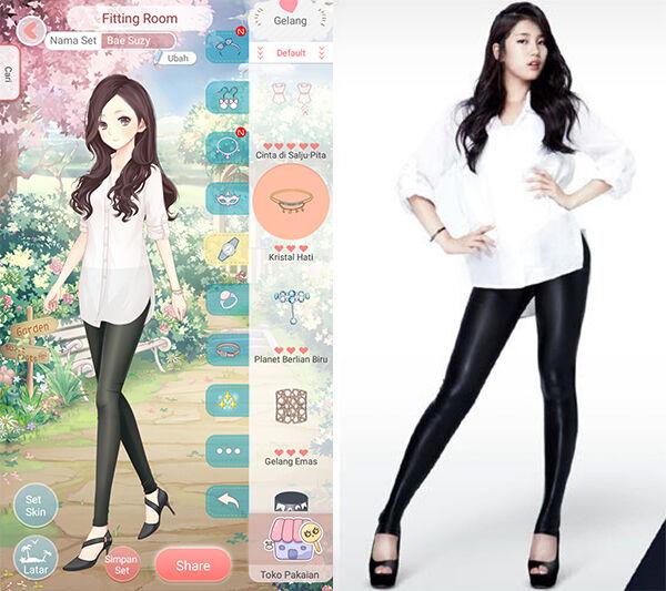 Seleb Korea Tiru Gaya Dress Up Diary 5