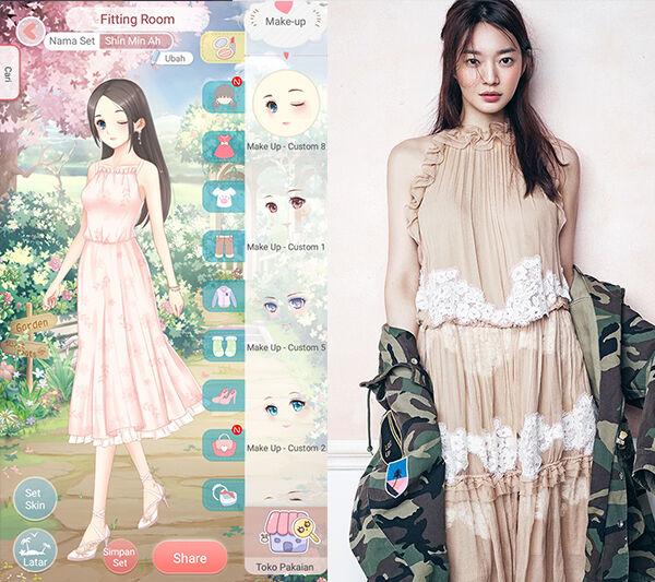 Seleb Korea Tiru Gaya Dress Up Diary 7
