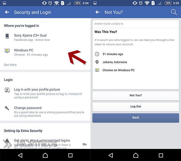 Cara Mengetahui Siapa Yang Mengakses Akun Facebook Kamu 5