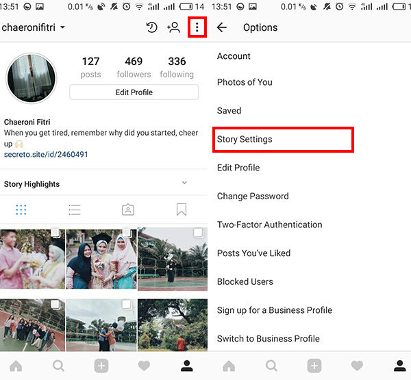 Share Instagram Stories Ke Whatsapp 2 Dba37