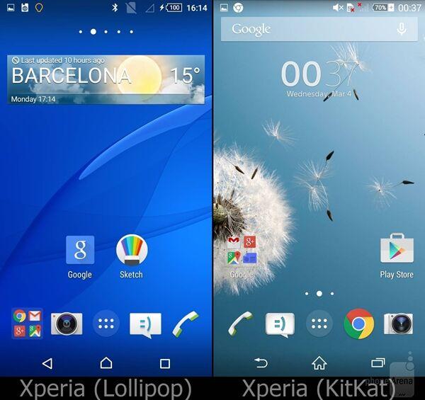 Perbandingan Android Lollipop Vs Kitkat Pada Sony Xperia 1
